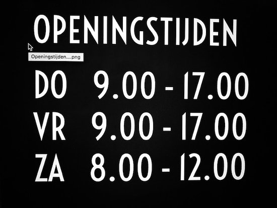 Kattendijke, Nederländerna: Openingstijden 2020