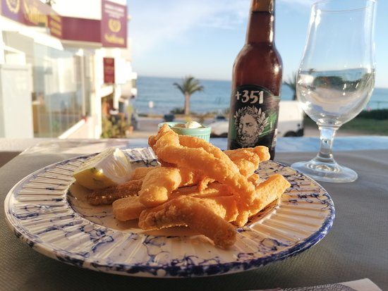 Praia da Luz, Португалия: Choco Frito