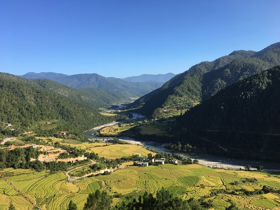 Punakha District, Bhutan: The Bhutanese way of farming