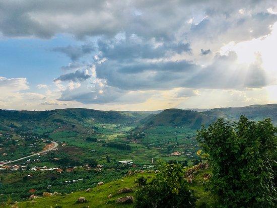 Hills of Ntungamo- Kayonza sub County-Rwahi Katoma  A short hike around the  onion selling urban town of Rwahi en rout Bwindi