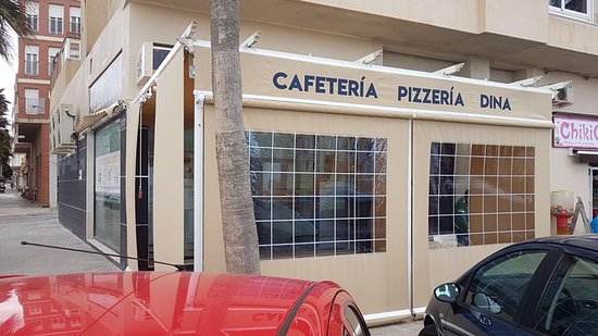 imagen Cafetería Pizzería Dina en Melilla