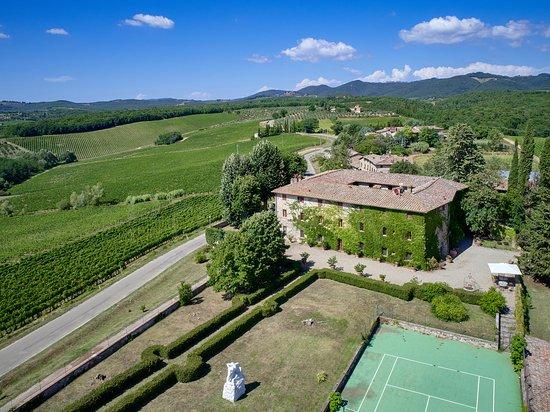 Castelnuovo Berardenga, Itália: Il Castello di Bossi