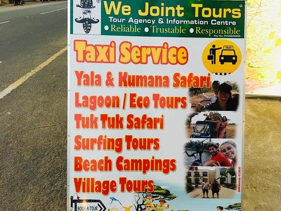 Arugam Bay, ศรีลังกา: Wejoint Tours