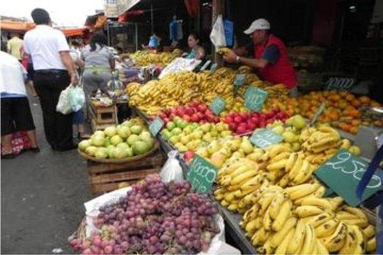 Excursión por el mercado de la ciudad...