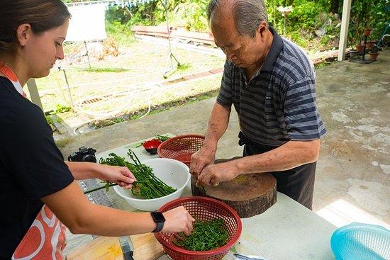Un cours de cuisine Taste of Bornéo...