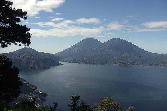Santa Catarina Lake Atitlan Upper Rim Wanderung