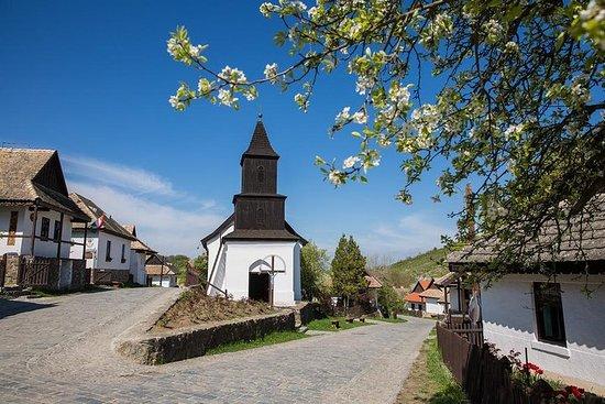 Vila e Castelo de Hollókő, excursão...