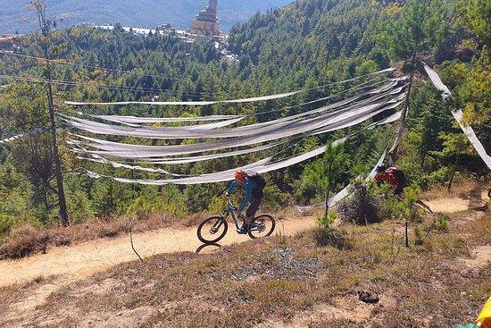 Excursion à vélo de cross-country au...