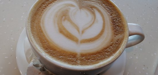 Beautiful and delicious vanilla latte!🥰