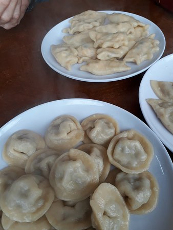 Kfar Kama, Израиль: all kinds of dumpling with variety of meat chess etc