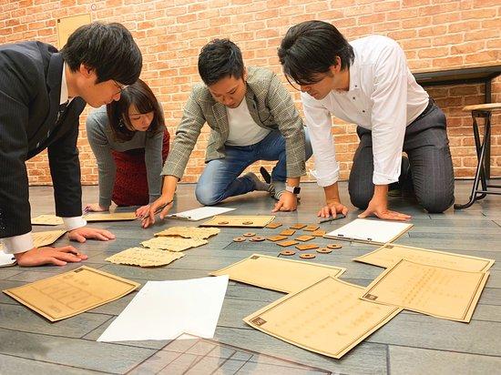 Suginami, Japonia: 古代遺跡をモチーフにした地下の会場では、遺跡ならではの世界観に基づいた多種多様な謎が皆さんを待ち受けます。 また、1階の会場ではとある会社のオフィスを再現した空間が広がり、全く異なる世界観をお楽しみいただけます。