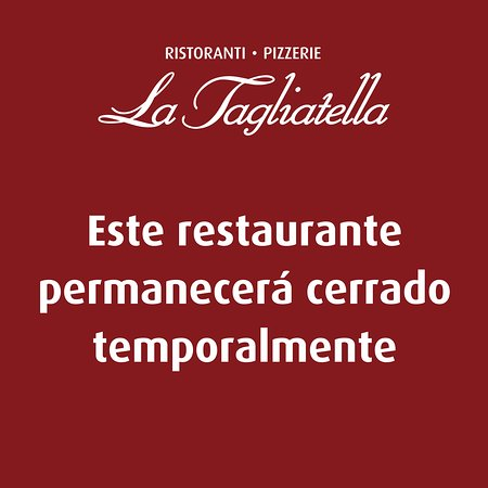 La Tagliatella C/Alcala, Madrid