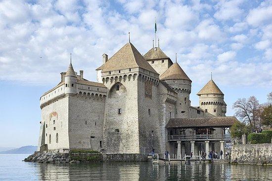 Entrada a Château de Chillon en...