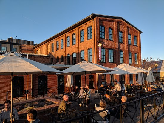 The main patio