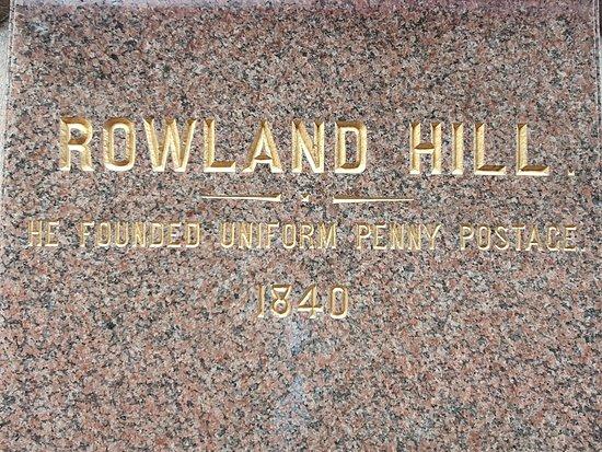 Rowland Hill Statue