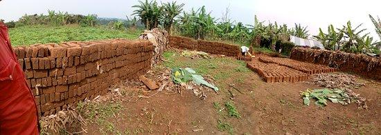 Community tou brick laying.