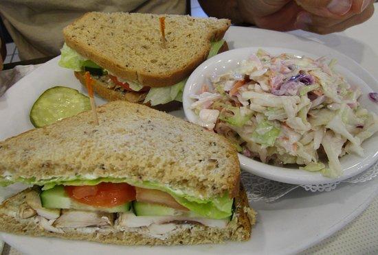 Coburg, OR: Vegetarian Sandwich