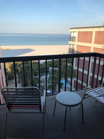 Looking at the Gulf of Mexico from our unit 504.