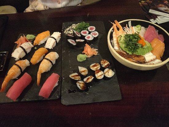 Ausgezeichnetes Sushi Lokal