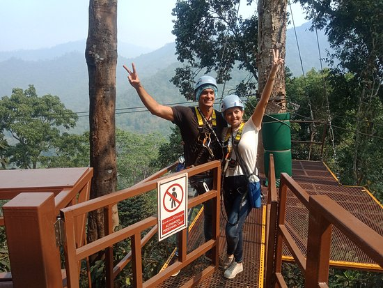 King Kong Smile Zipline