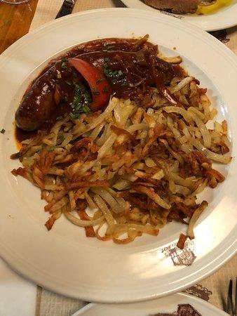 Le Mazot: sausage