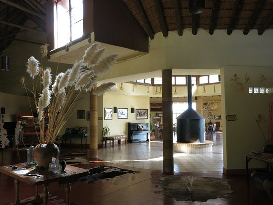 Rorke's Drift, แอฟริกาใต้: at the hotel...