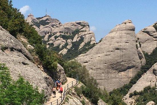Montserrat Kloster und Wandererlebnis...
