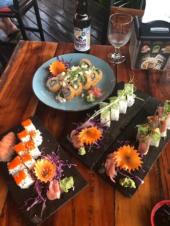 Really good sushi