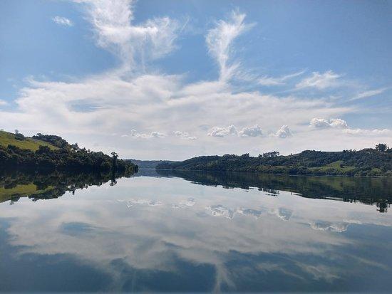 Meu visual preferido - durante passeio de barco em Aratiba