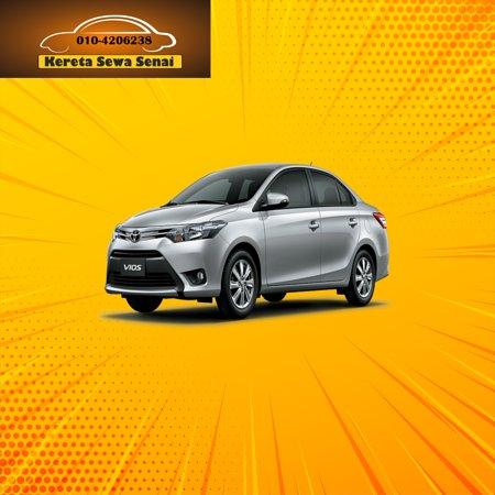 Toyota Vios RM 240 perday  Best car rental service near Senai Airport. Clean and well maintained car. Klik 👉 https://SenaiCarRental.net Klik 👉 www.wasap.my/+60104206238/NakSewaKereta Klik 👉https://SenaiCarRental.net/terms