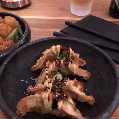 Ok sushi in a fancy place