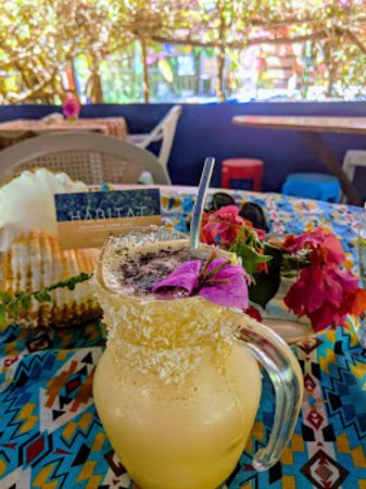 Habitat iced coconut coffee
