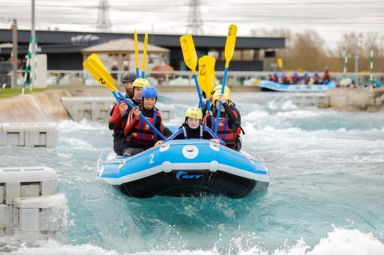 Waltham Cross, UK: Had the most amazing day out, at Lea valley. The brilliant instructor Stu looked after us all 9 of us.