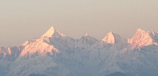 Sunset over Nanda Devi