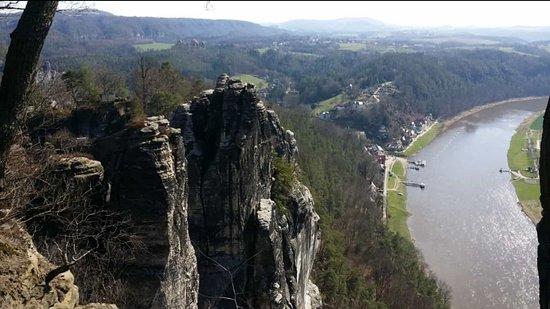 Bastei, เยอรมนี: Gerne aufgesucht
