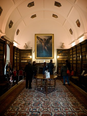 One of the many amazing rooms at Drum Castle