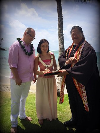 Kahala, HI: Slub na Hawajach