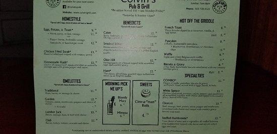 Clatskanie, OR: Colvins Pub & Grill