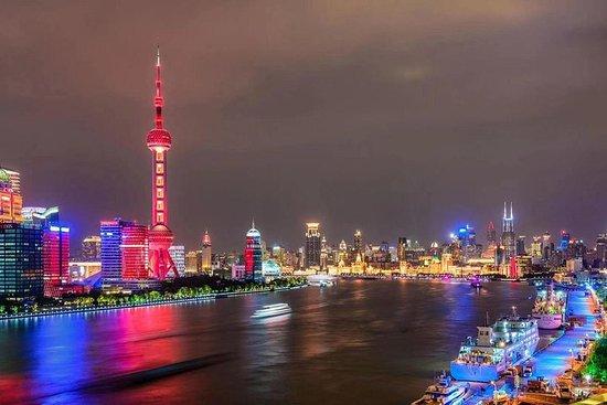 上海私人夜遊,黃浦江巡遊,外灘和新天地