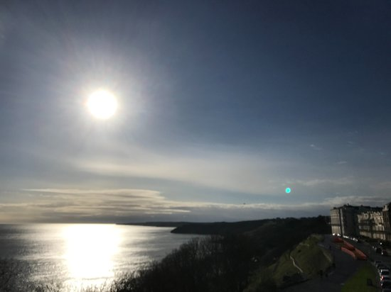 Sunrise towards Filey