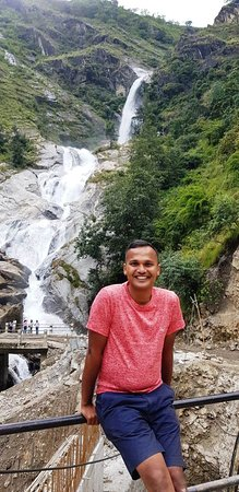 Jomsom, Nepal: rupse water fall