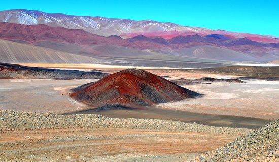 Camino de regreso desde Antofalla a Antofagasta