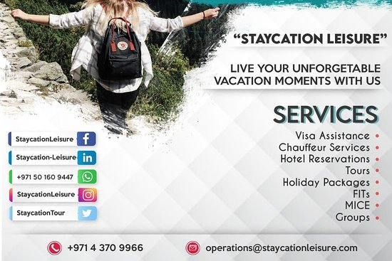 Staycation Leisure Tourism
