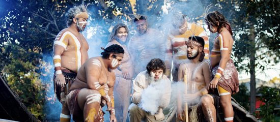 Witness ancient traditions like the Smoking Ceremony before participating in didgeridoo playing; boomerang painting; spear throwing; dancing; artefacts and camp life presentations and even try bush foods.