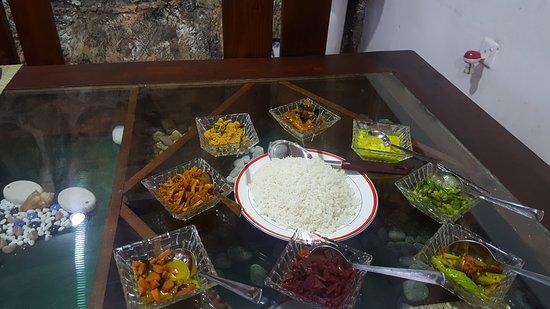 Dickoya, Sri Lanka: Dinner