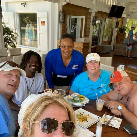 Fun times with Cpt C'Quine in the BVi