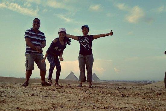 Heldags privat tur til Giza-pyramider...