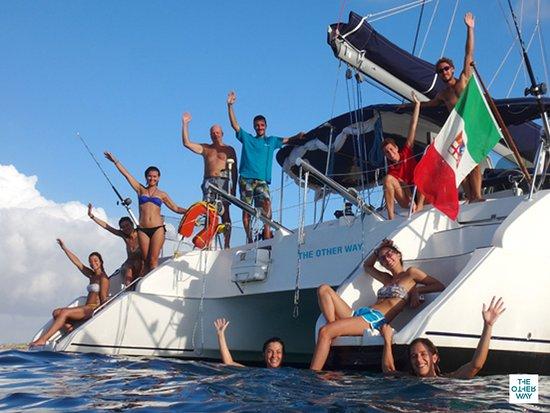 Aegadian Islands, Italija: Vacanze in catamarano alle Isole Egadi in flottiglia