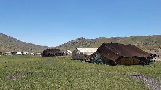 Kerman Province, Iran: Known as roof of Kerman, Takht e Sartashtak is a unique countryside near Rabor in Kerman.