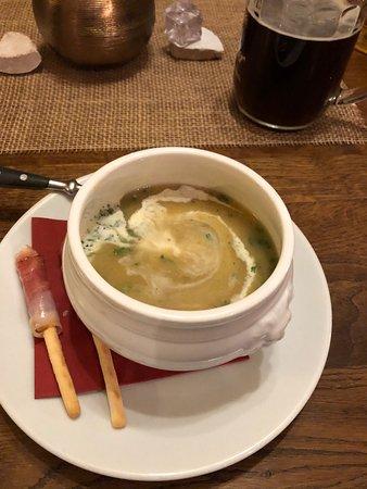 Weissenstadt, Nemecko: Super leckere fränkische Kartoffelsuppe und dazu ein leckeres Landbier der Region Wir kommen wieder LG: Toni
